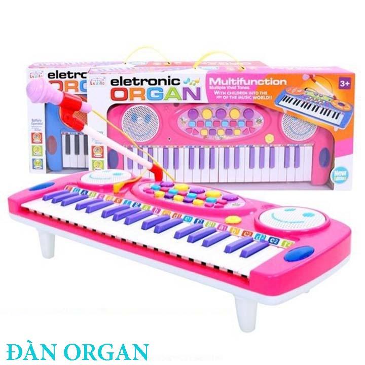 Đàn organ có mic