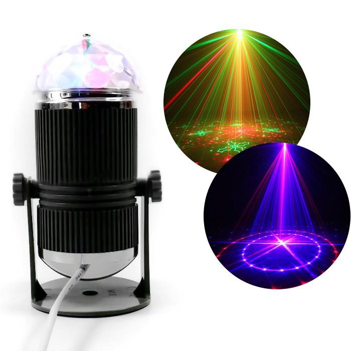 Đèn cảm ứng theo nhạc Đèn led mini stage light