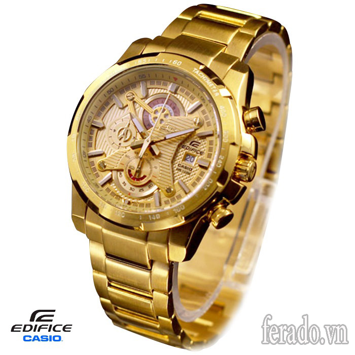 Đồng hồ Casio nam EFR-523FG-9A (CAISO01) FULL GOLD
