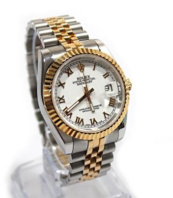 Đồng hồ nam cao(mặt đá ngọc trai) cấp Automatic Rolex RL03