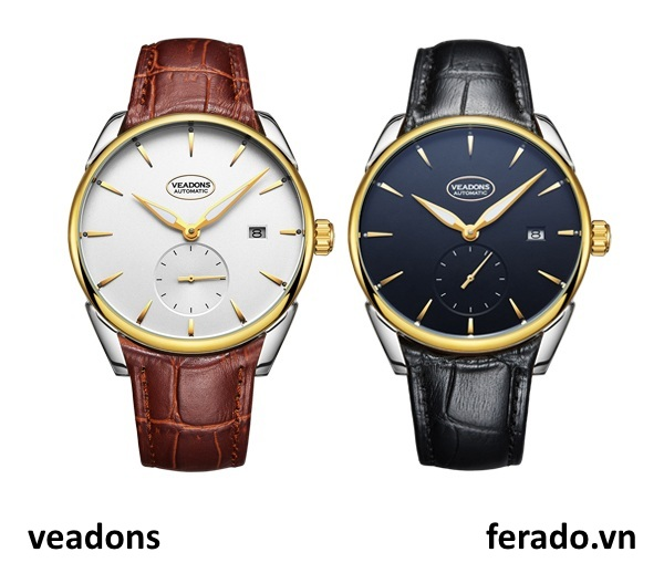 Đồng hồ nam cao cấp Automatic Veadons VD06