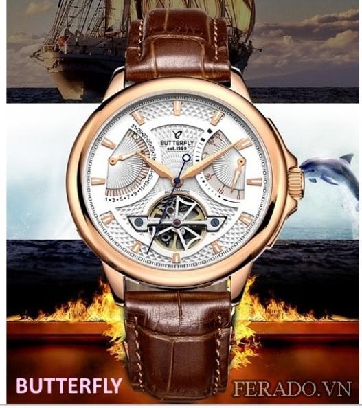 Đồng hồ nam cao cấp Butterfly Bt055