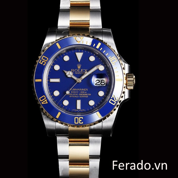 Đồng hồ nam cao cấp Rolex Automatic Blue Light RL013