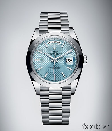 ĐỒNG HỒ NAM CAO CẤP ROLEX DAY DATE 228206 MẶT XANH