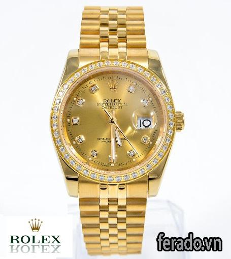 ĐỒNG HỒ NỮ CAO CẤP FULL GOLD,RL005