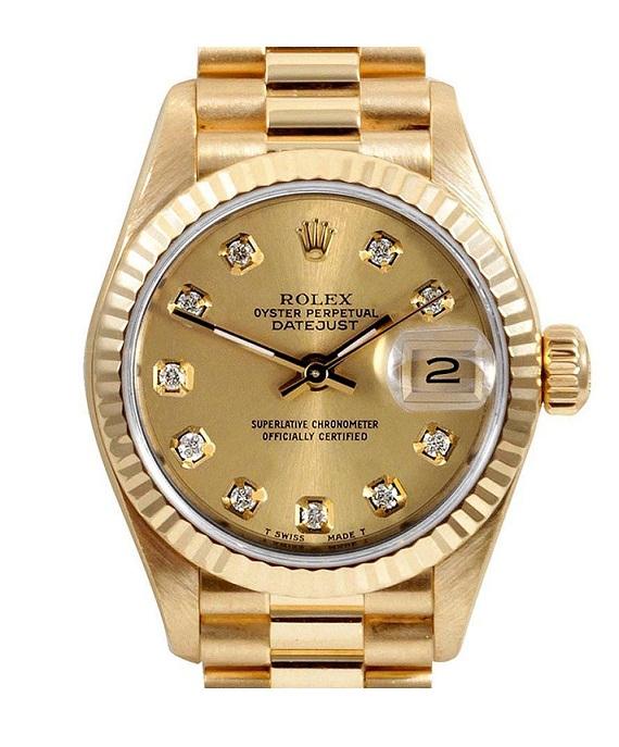 Đồng hồ Rolex nam Datejust Full Gold,RL02