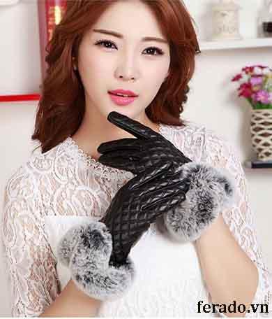 Găng tay nữ đàn hồi 2018