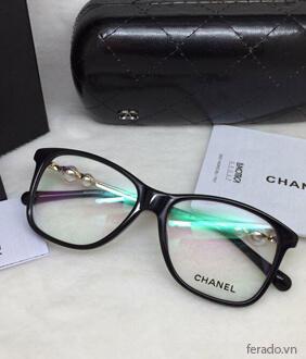 Gọng kính cận Chanel ngọc trai cao cấp