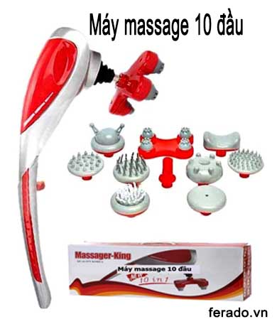 Máy massage 10 đầu