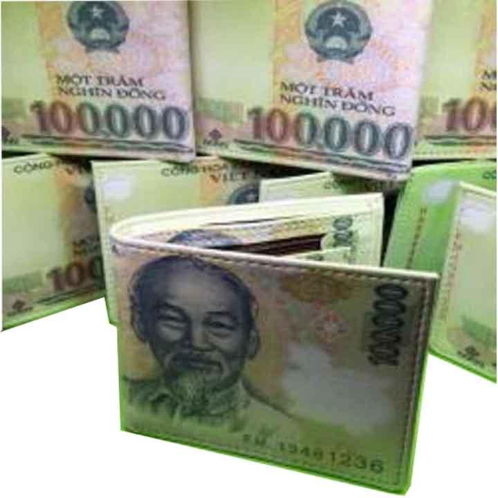 Ví nam hình tiền 100.000 đ