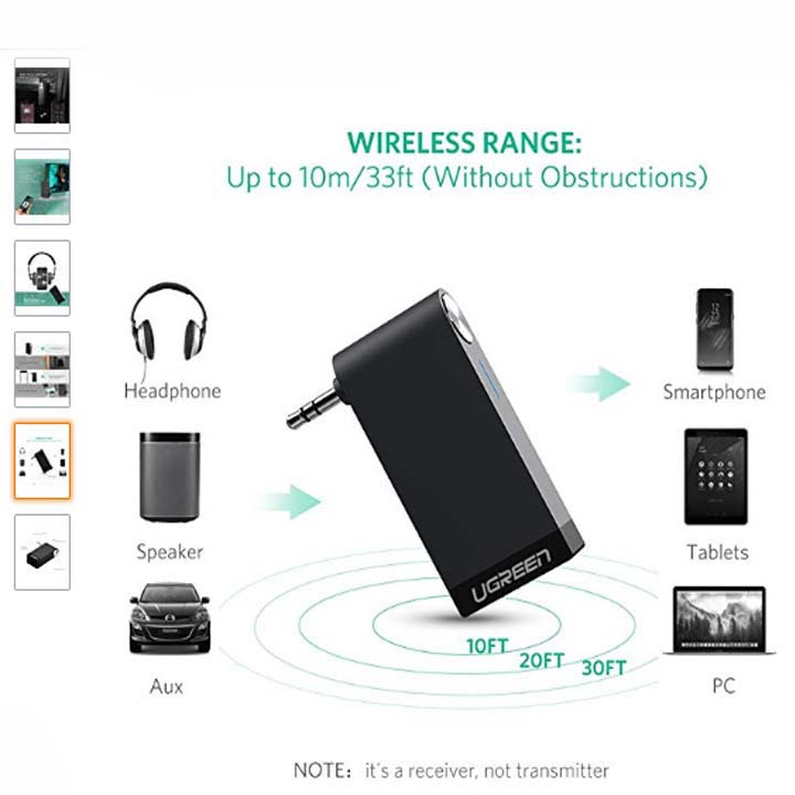 Wireless bluetooth 4.1 receiver