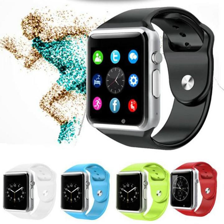 Đồng hồ thông minh a1 dây màu xanh biển