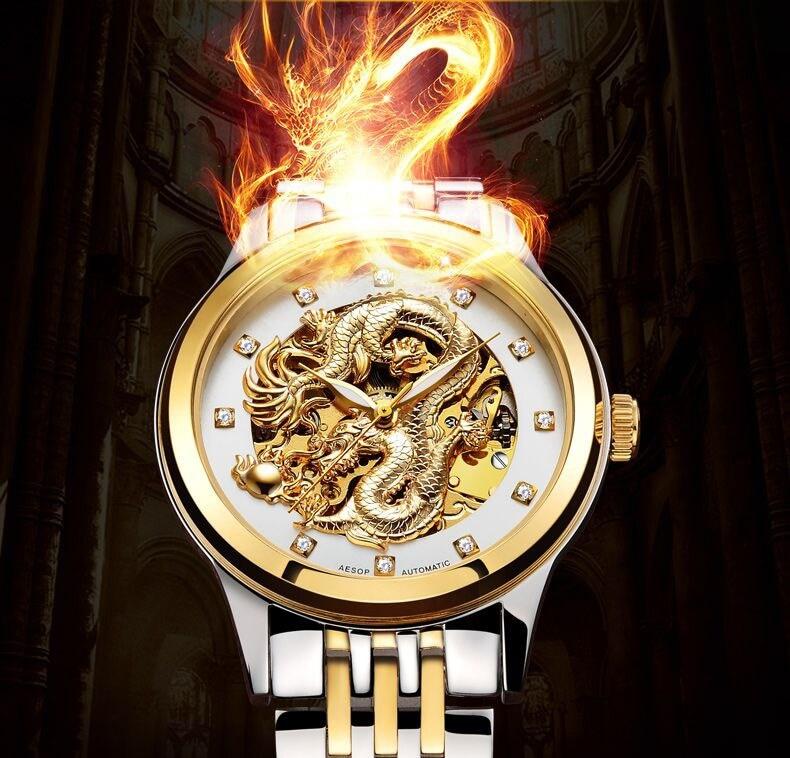 đồng hồ nam mặt rồng