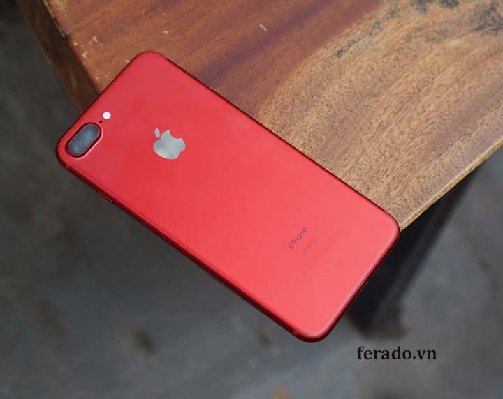 điện thoại iphone 7plus màu đỏ