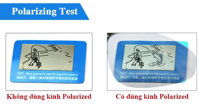 tấm test phân cực