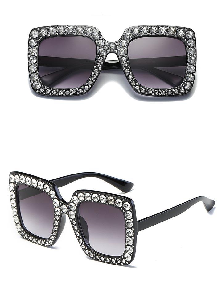 kính mắt nữ gucci hót 2018 màu đen