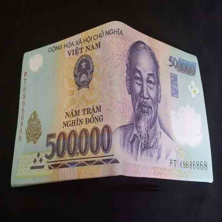 ví hình tiền 500k