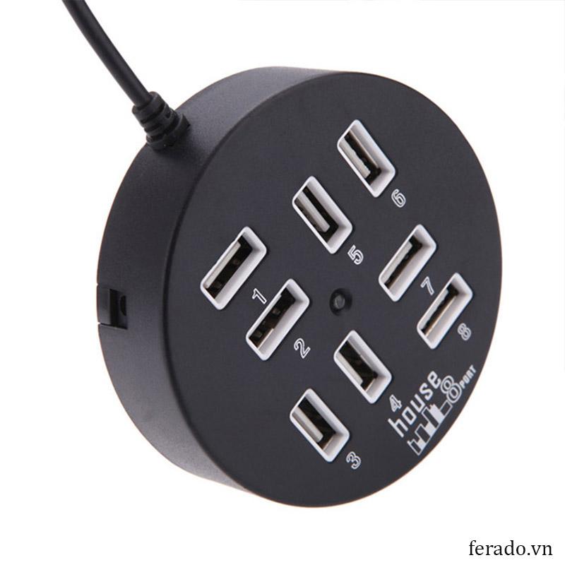 phít cắm USB 8 PORT DÂY DÀI 60CM