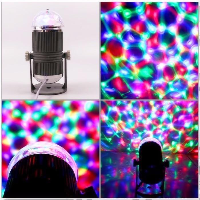 Đèn led mini stage light- đèn sân khấu