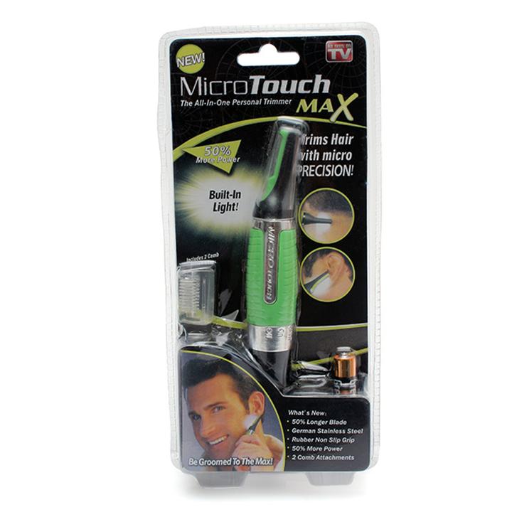 máy cạo râu tỉa lông mũi micro touch max