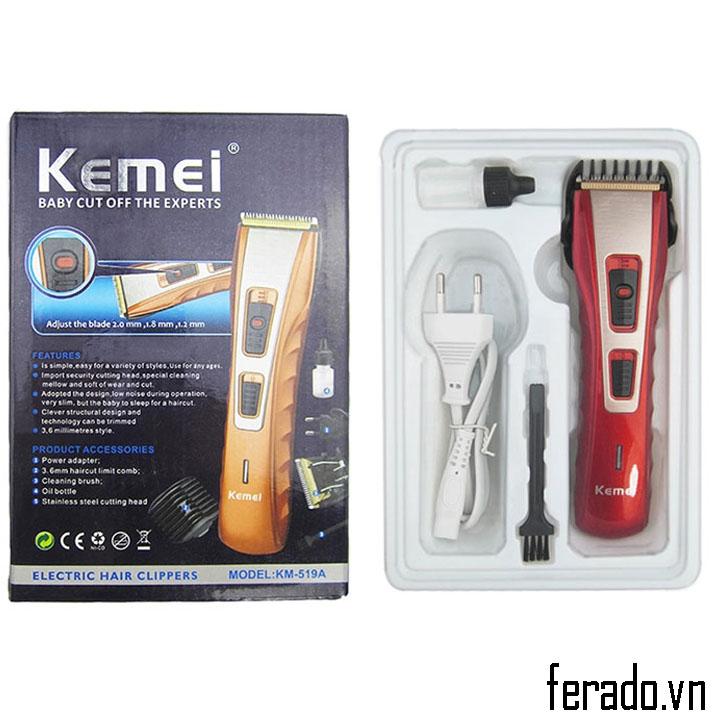 Tông đơ cắt tóc kemei KM-519A Màu