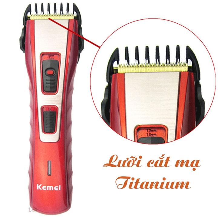 Tông đơ cắt tóc kemei KM-519A