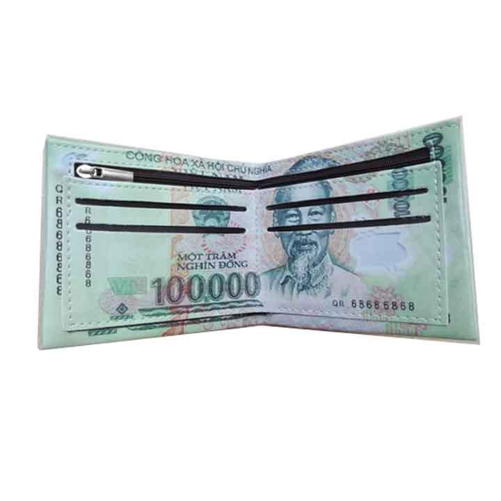 ví hình tiền 100.000đ