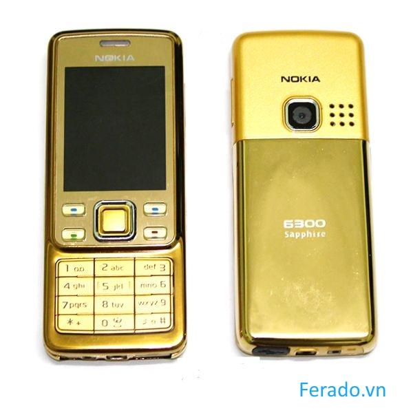 Điện Thoại Nokia 6300 Gold Cổ