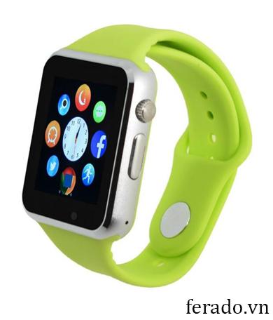 Đồng hồ điện thoại thông minh A1 màu xanh lá