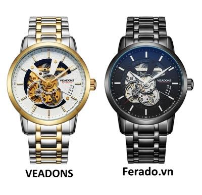 Đồng hồ nam cao cấp Automatic Veadons VD09