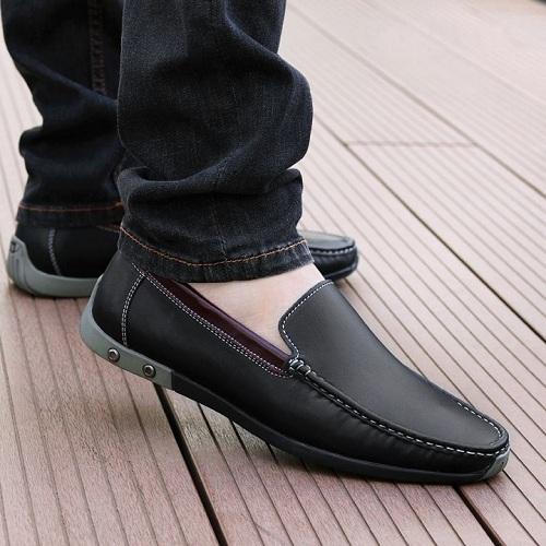 Giày lười da bò đẹp GD02