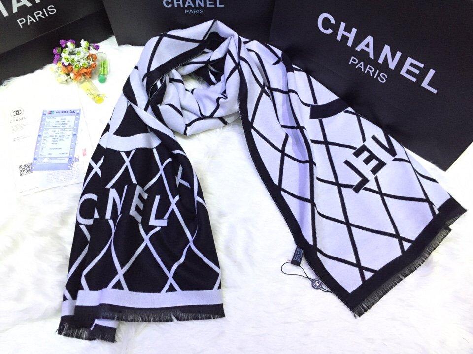 Khăn Choàng Cao Cấp Chanel – CN1