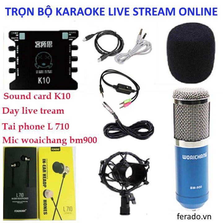 Trọn bộ karaoke online K10