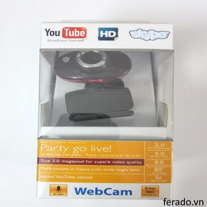Webcam dành cho máy tính để bàn